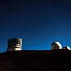 Mauna Kea Observatory Subaru and Keck Telescopes. 12-03-17