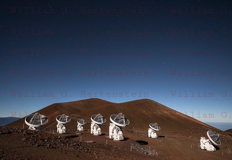 Mauna Kea Observatory Submillimeter Array 12-03-17