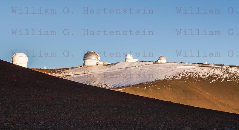 Mauna Kea Observatory Summit, HI. 12-03-17