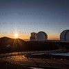 Sunset on Mauna Kea Observatory Summit 12-03017