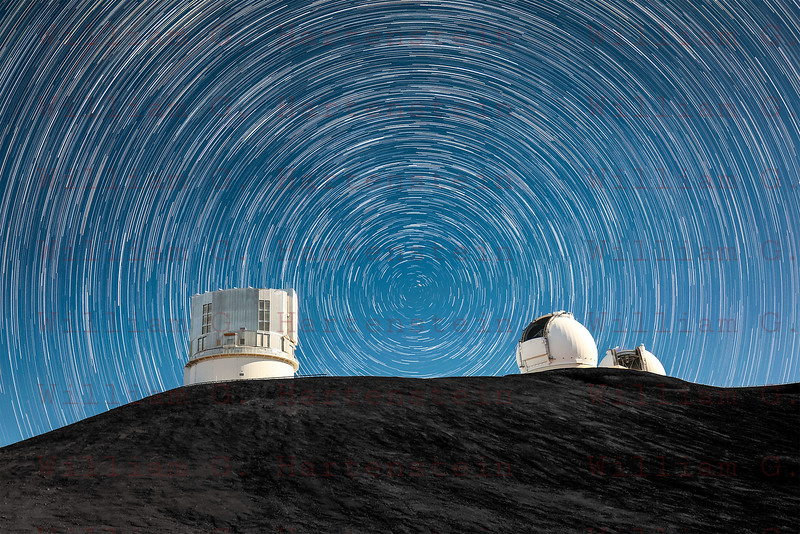 The Summit of Mauna Kea Observatory