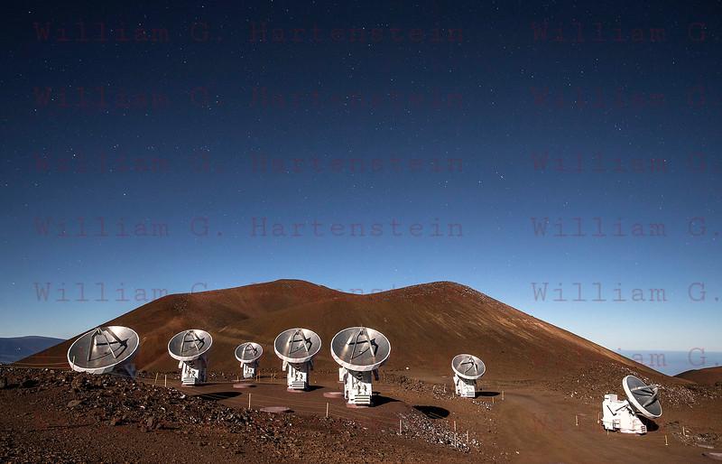 Mauna Kea Observatory Submillimeter Array 12-03-17