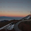 Sunset at the Mauna Kea Observatory Summit 12-03-2017