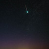 Sporadic meteor over Walla Walla, Washington
