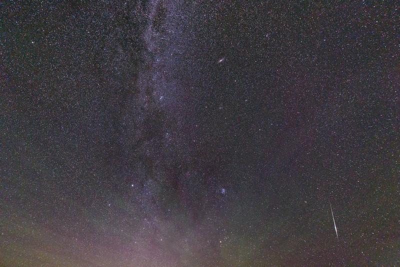 Sporadic meteor