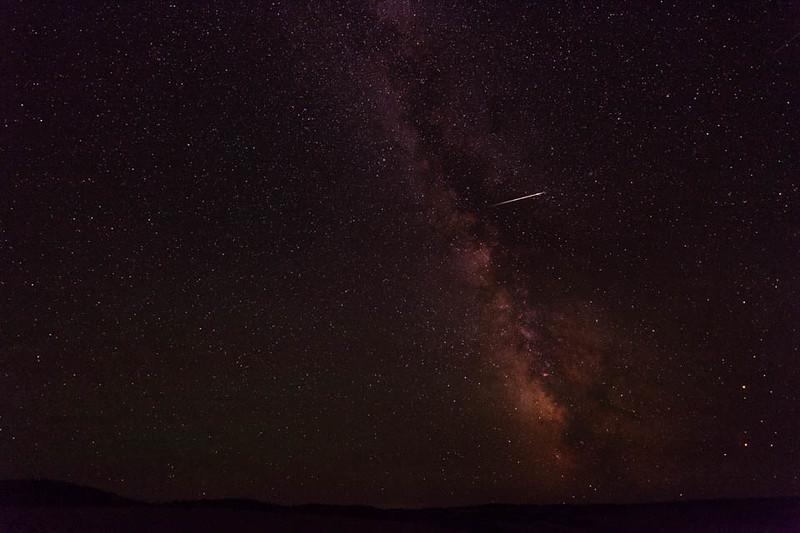 2016 Southern Delta Aquariid Meteor Shower near Pilot Rock, Oregon