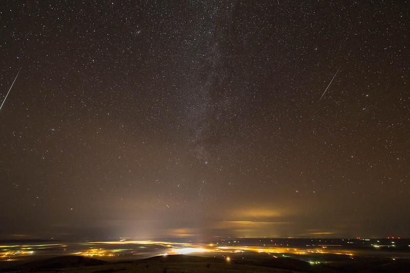 2012 Geminids over Pendleton, Oregon