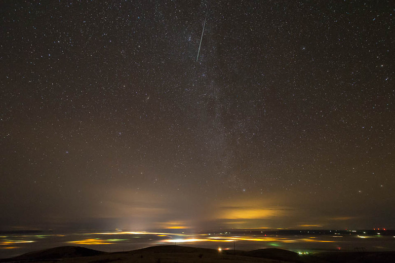 2012 Geminids over Pendleton, Oregon
