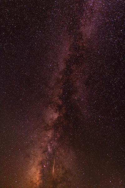 2016 Perseid Meteor Shower near Pilot Rock, Oregon
