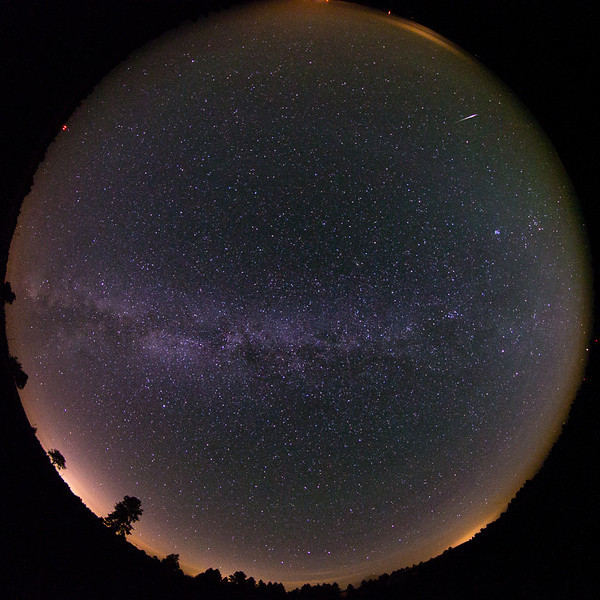 2013 Perseid meteor over the Blue Mountains