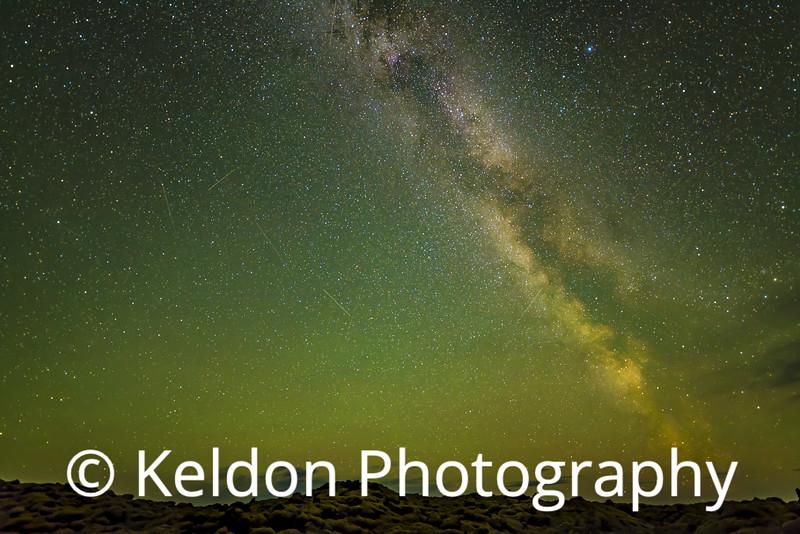 Iceland Milky Way Lava Fields
