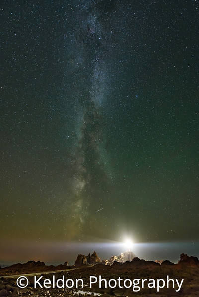 Corbiere Lighthouse Milky Way Shooting Star Jersey
