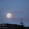 Full Moon Setting Sunrise
