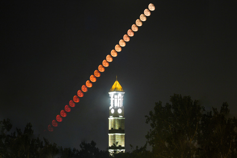 Moonrise over the Bell Tower