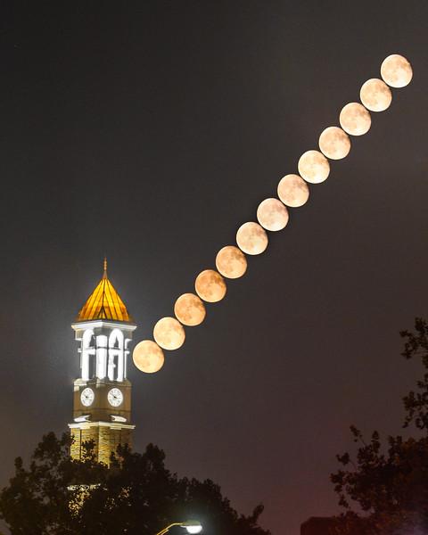 Bell Tower Moonrise