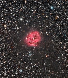 Cocoon Nebula - close up