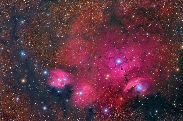 Beyond the Lagoon: IC 4685 and Friends