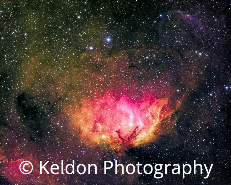 Tulip Nebula Sh2 101