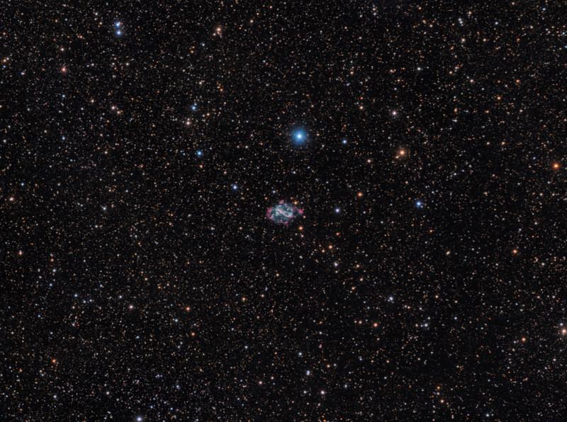 The Spiral Planetary Nebula, NGC 5189
