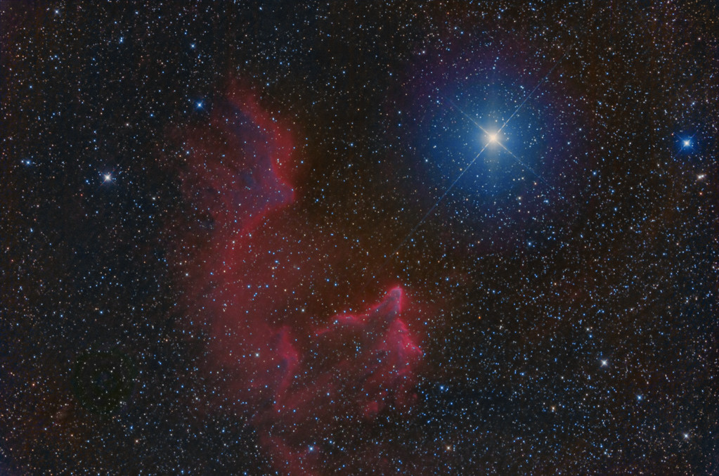 IC 59 and IC63 In Cassiopeia