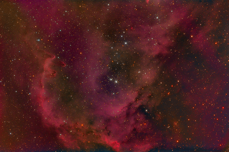 IC1848: Soul Nebula (sometimes called the Baby Nebula)
