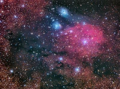 IC 1283 and vdB118/vdB119