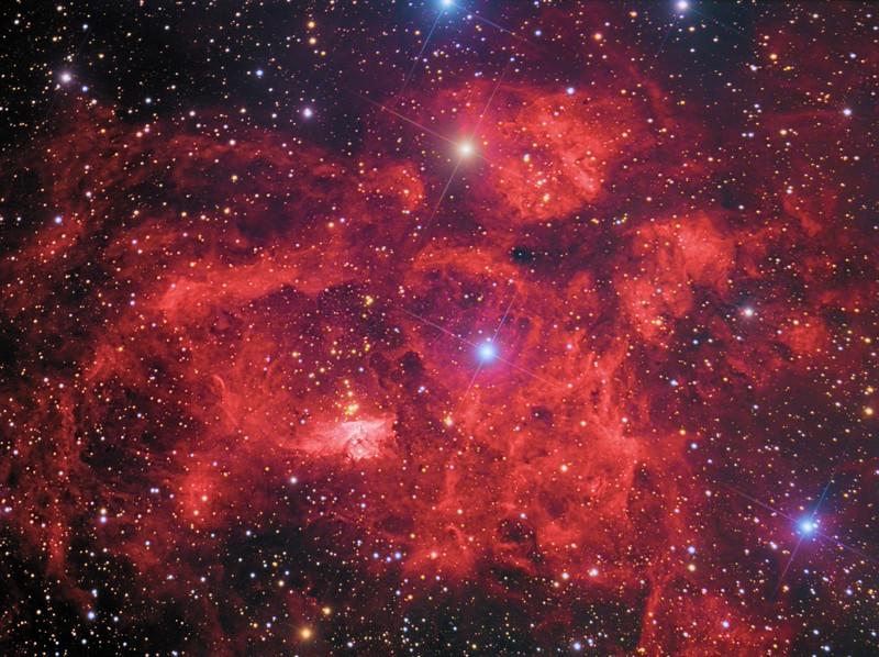 Pismis 24 and NGC 6357