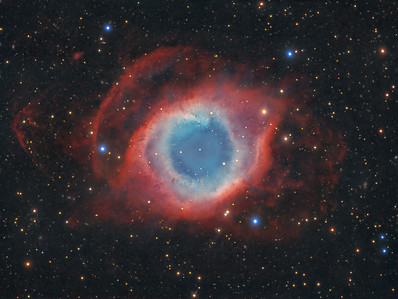 The Eye of God - A Deep View into the Helix Nebula (NGC 7293)