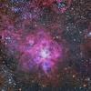 The Tarantula Nebula and Super Star Cluster R136