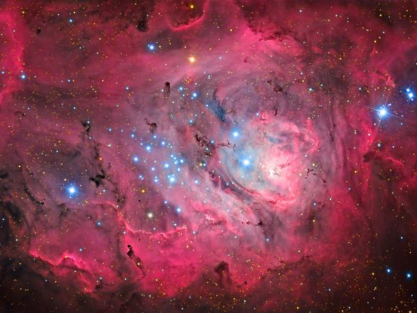 Messier 8 - The Lagoon Nebula