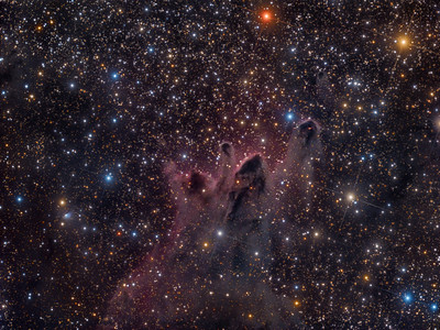 Cometary Globules CG 30, CG 31 and CG 38 in Puppis