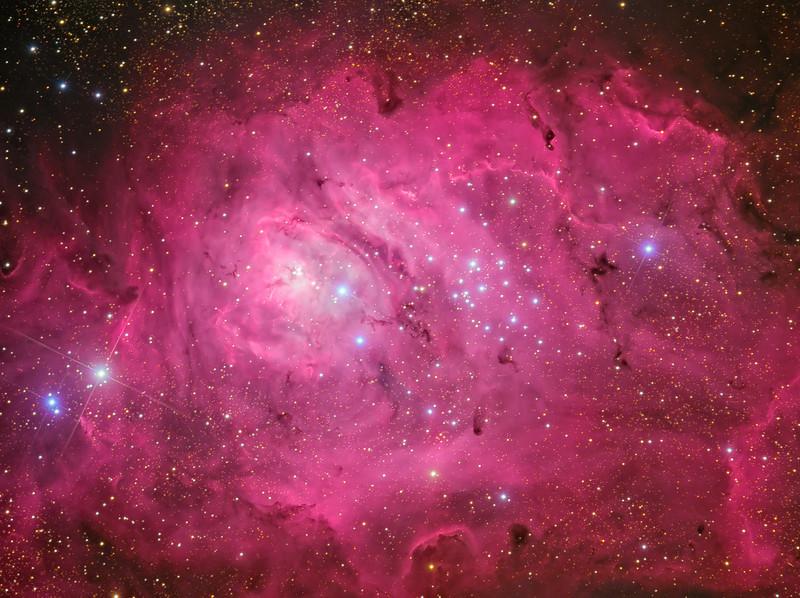The Lagoon Nebula, Messier 8