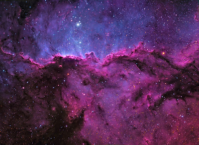 The Great Wall of Ara - NGC 6188 (RGB Colour)