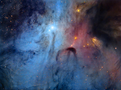 IC 4603 - The Turbulent Heart of the Scorpion