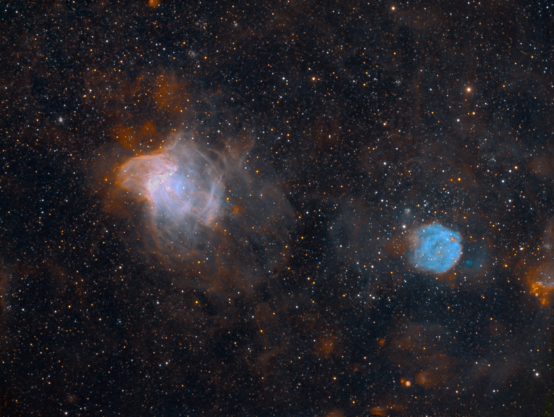 NGC 346 and NGC 371 in the Small Magellanic Cloud