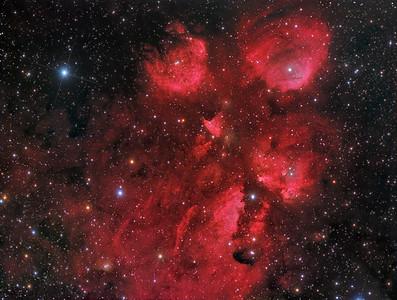 NGC 6334 - The Cat's Paw Nebula