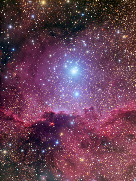 NGC6188 and NGC 6193 in Ara