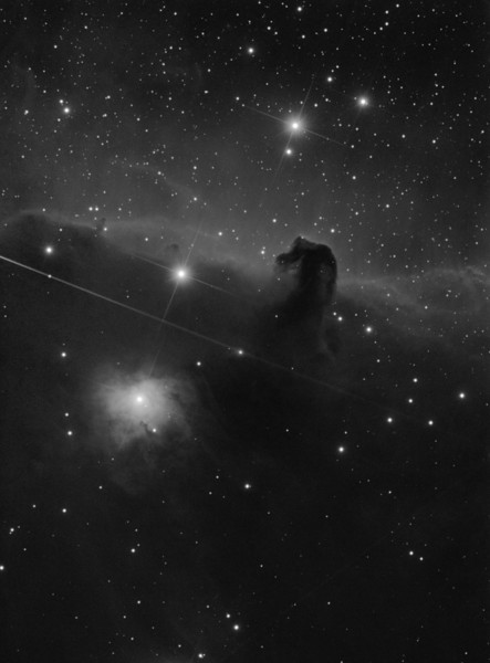 The Horsehead Nebula - Quick 35 minute test