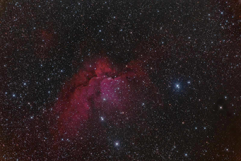 The Wizard Nebula: Sharpless 142