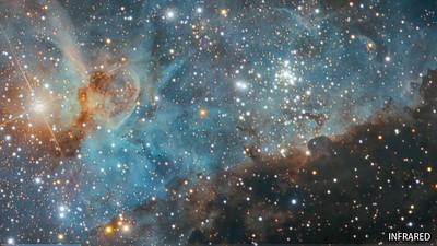 HD Video Tour of the Carina Nebula
