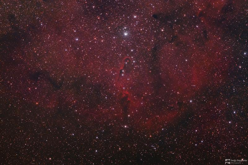 Elephant's Trunk Nebula | Туманность Хобот слона
