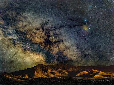 Galaxy Rising Magdalena, New Mexico