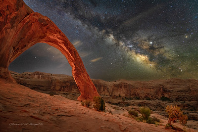 Corona Arch near Moab, Utah