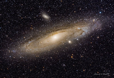 Our neighbor the Andromeda Galaxy