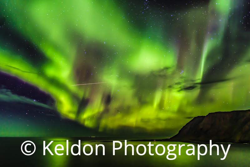 Iceland Northern Lights Siglufjordir