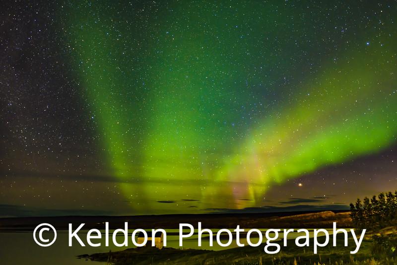Iceland Northern Lights Egilsstadir