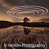 Kelly Hall Tarn buzzed by a drone at night