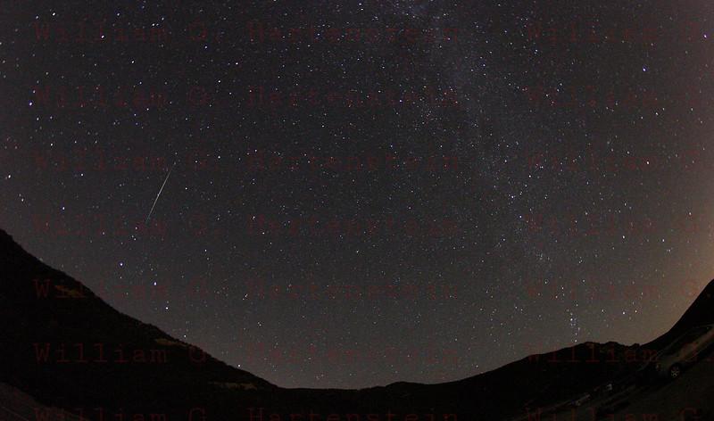 Perseids Meteor Shower 08-12-2013