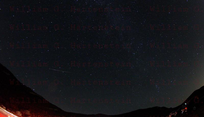 Perseids Meteor Shower Templin Hwy, CA. 08-12-2013