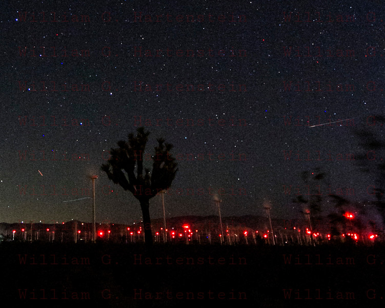The Perseid meteor shower Aug. 12, 2015 Mojave, CA.